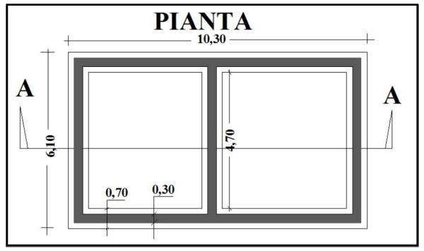 Preventivo n 1 scavi e getto delle fondazioni della casa for Creatore della pianta della casa