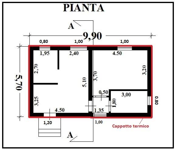 Preventivo n 12 f e p o fornitura e posa in opera di - Finestre in pianta ...