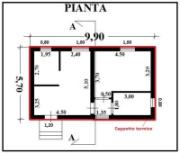 Preventivo n 12 f e p o fornitura e posa in opera di - Disegno pianta casa ...