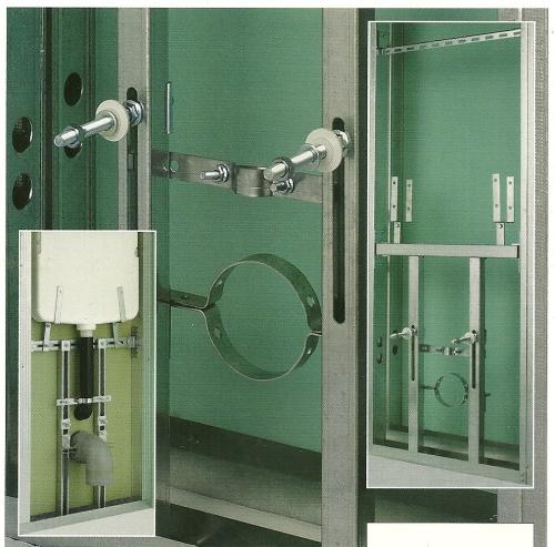 Sistemi atti a sostenere gli apparecchi sanitari ed altro - Cartongesso in bagno ...