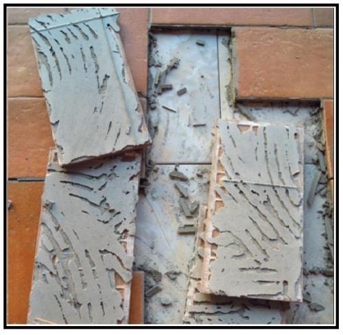 Sistema di graffiatura come garantire la presa di un - Incollare piastrelle su pavimento esistente ...