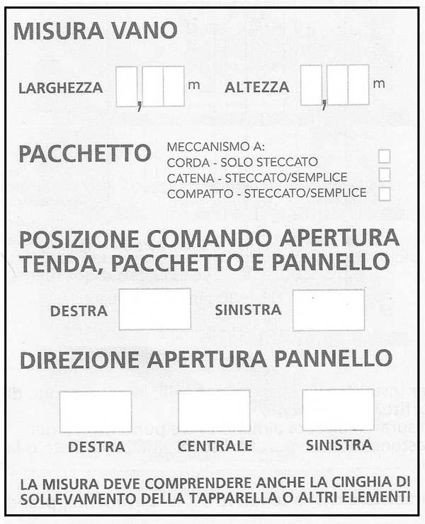 Tende A Pacchetto Misure.Come Prendere Le Misure Precise Per Acquistare Una Tenda A