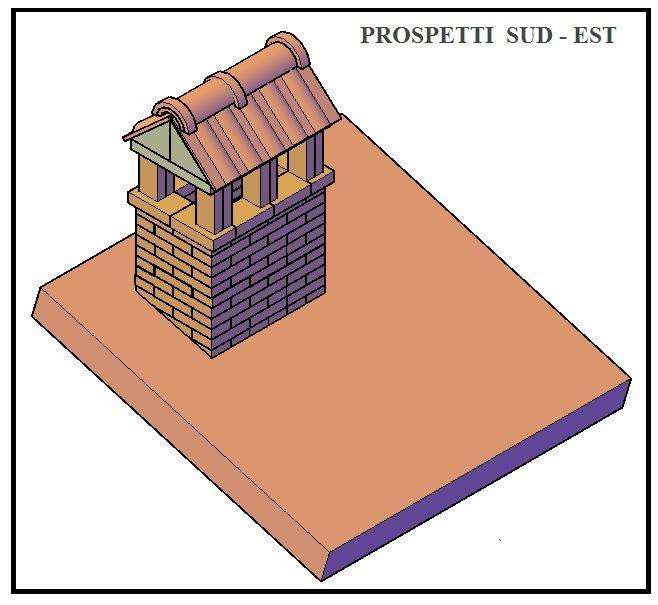 Come costruire un bel camino sul tetto for Come costruire un camino di adobe
