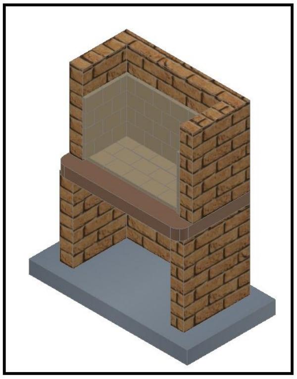 Un barbecue semplice e facile da costruire - Pietra faccia vista per esterni ...