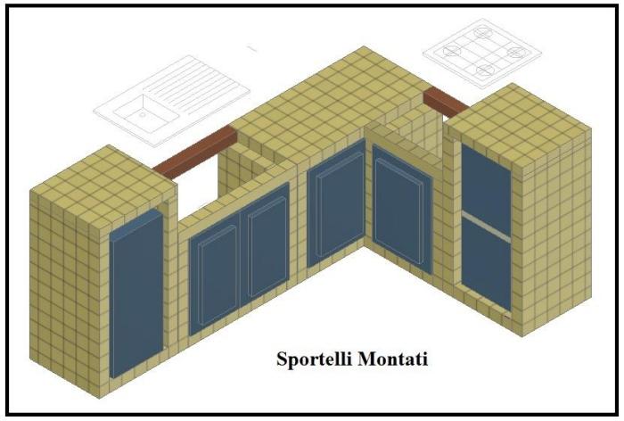 Costruire una cucina in muratura | Il Fai Da Te