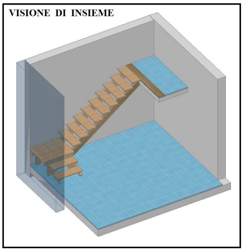 Progettazione e costruzione di una scala in legno - Progettare scala interna ...