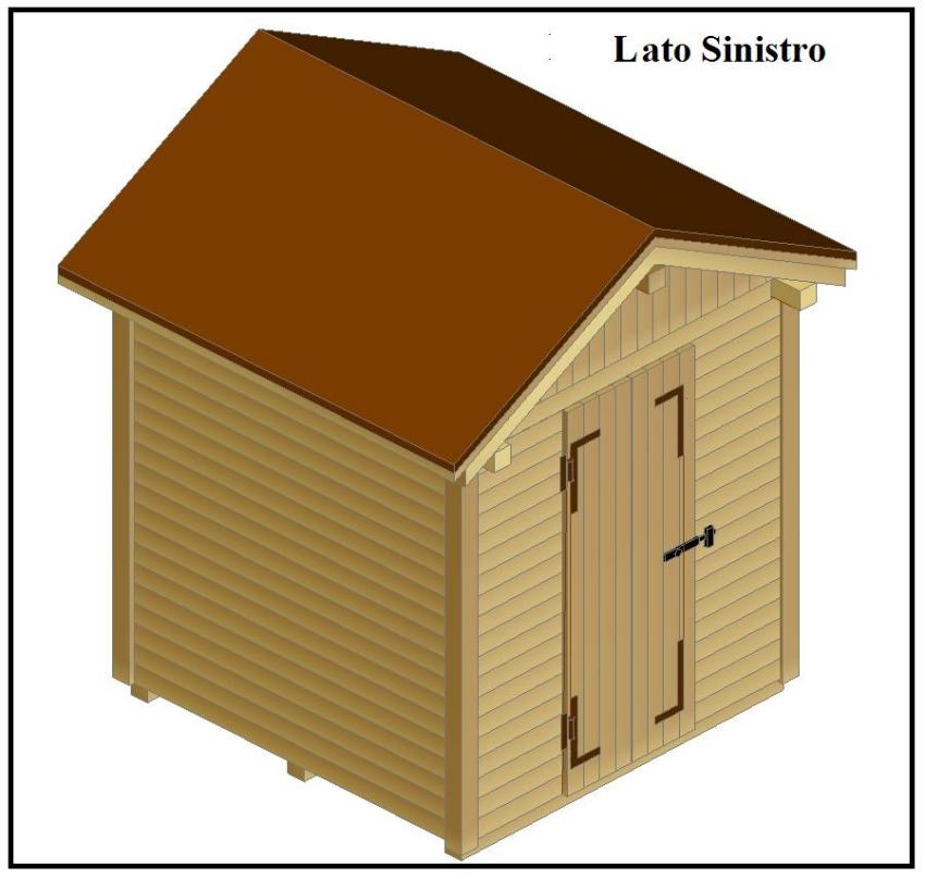 Come costruire una bella casetta porta attrezzi per il for Piani di casa fai da te