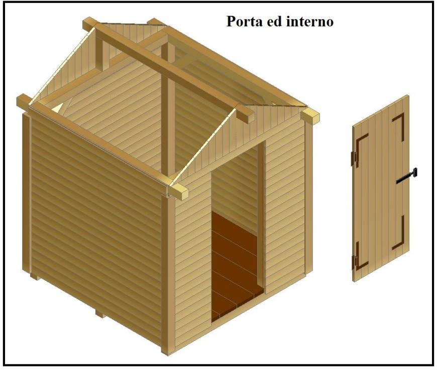 Costruire casetta in legno porta attrezzi confortevole for Costo materiale per costruire un calcolatore di casa