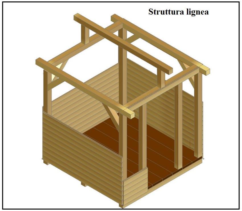 Casetta in legno progetto for Quanto costruire una casetta