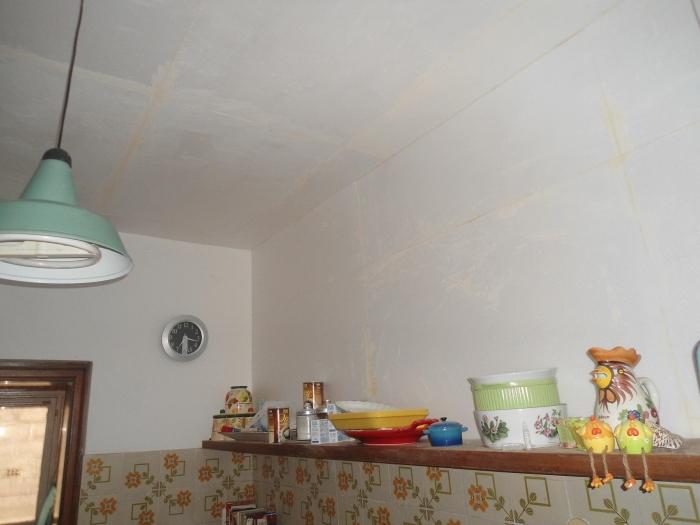 Isolamento termico interno di un vano con pannelli di - Isolamento termico soffitto interno ...