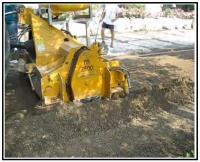 4 Fresatura e rimescolatura terreno esistente fino a 20 cm 1