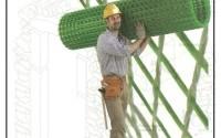 Una rete in fibre sintetiche adatta per il consolidamento strutturale dei vecchi edifici.