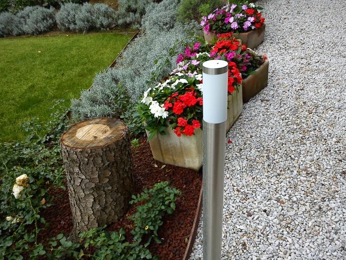 Come ricavare un bel giardino da un modesto terreno in for Sistemazione giardino