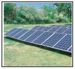 Impianto fotovoltaico in zona agricola 1