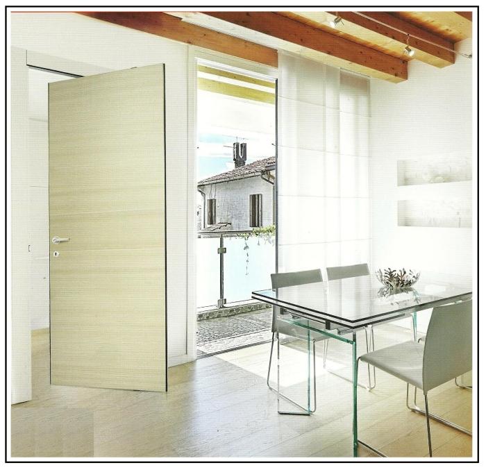 Una porta con rototraslazione adatta anche per gli spazi pi ridotti - Finestra vetrocemento ...
