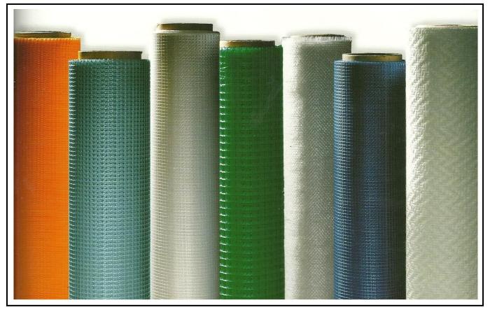 Quando e come usare i tessuti e le reti in fibra di vetro for Malta materiale