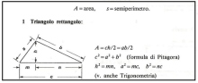 Geometria formule figure piane e solidi. Utili in Edilizia