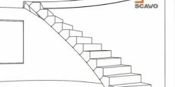 Una innovativa cassaforma per scale in calcestruzzo su misura.