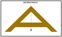 L'Archipendolo, un semplice strumento del passato, dai tre usi diversi
