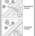Isolamento termico di sottotetti lignei non abitabili.