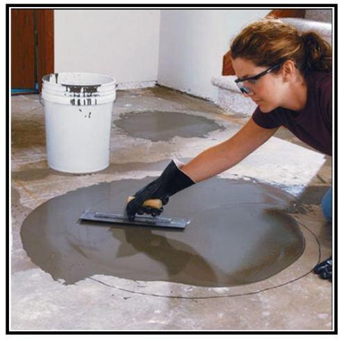 Come livellare un pavimento video dimostrativo - Posa pavimento pvc su piastrelle ...