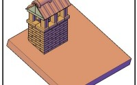 Come costruire un bel camino sul tetto.
