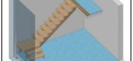 Progettazione e costruzione di una scala in legno.