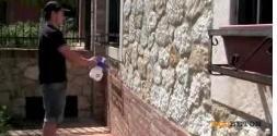 Un protettivo antidegrado idrorepellente per pietra e laterizi