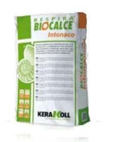 Biocalce intonaco traspirante contro l 39 umidit di risalita for Biocalce intonaco