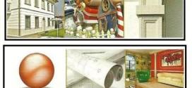 Gli elementi e i sistemi decorativi in edilizia per interni ed esterni