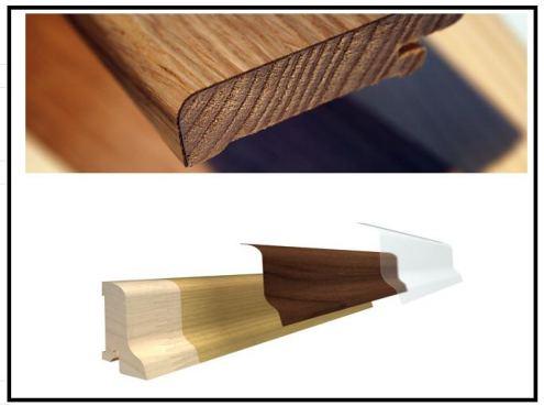 Vari tipi di battiscopa per qualsiasi stile di abitazione for Tipi di abitazione