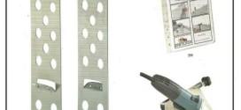 Un sistema di fissaggio meccanico di lastre da rivestimento