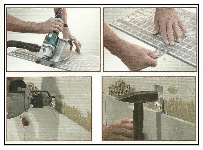 Un sistema di fissaggio meccanico di lastre da rivestimento - Messa in opera piastrelle ...