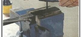 Eseguire una maschiatura e una filettatura su ferro