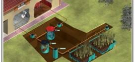Fitodepurazione a flusso orizzontale per lo smaltimento dei liquami