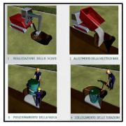 Come mettere in opera vasche in polietilene fognarie 1