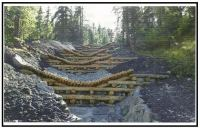 Rinforzi strutturali con legname e terra 1