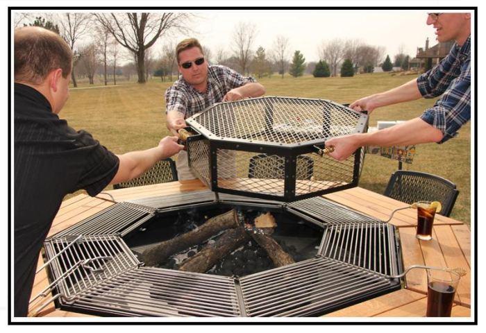 Tavolo Da Giardino Con Barbecue.Jag Grill Il Barbecue Che Impazza Negli Stati Uniti