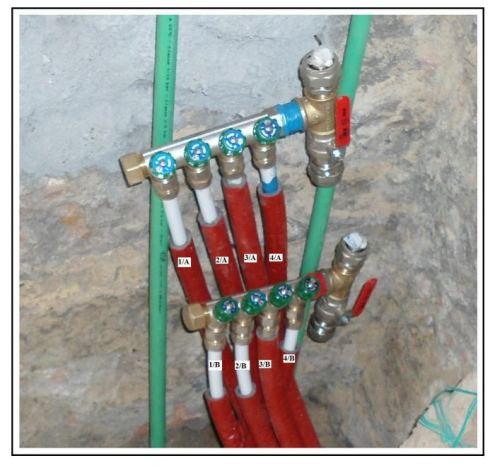 Un impianto di riscaldamento con collettori lineari e - Caldaia per casa 3 piani ...