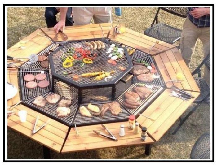 Jag grill il barbecue che impazza negli stati uniti - Angolo barbecue in giardino ...
