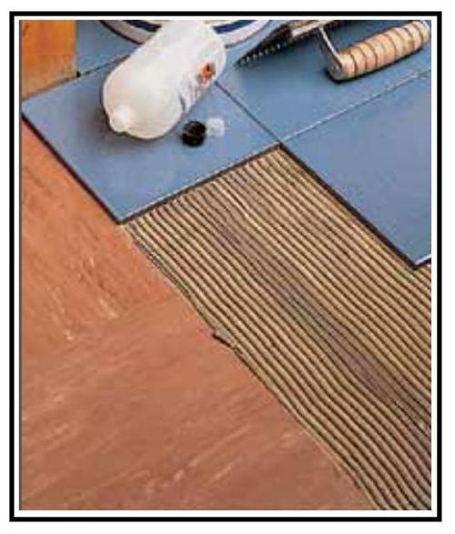 Un adesivo per incollare piastrelle su ogni tipo di - Incollare piastrelle su pavimento esistente ...