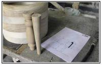 Il progetto e il modello in legno 1