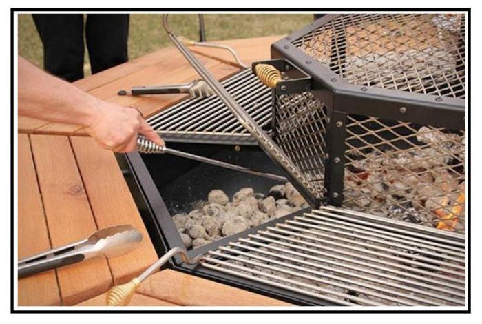 Jag grill il barbecue che impazza negli stati uniti for Barbecue fai da te in ferro
