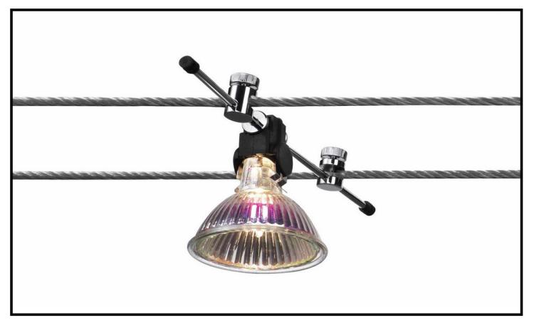 Illuminazione Cavi Acciaio: Per la sicurezza i binari trasportano corrente a ...