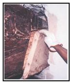 un adesivo epossidico gel per restaurare elementi strutturali in legno 1