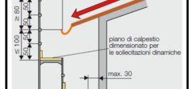 Montaggio corretto della parte alta di un ponteggio metallico