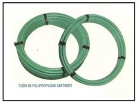 Tubazione in polipropilene con raccordi a innesto rapido e compressione 1