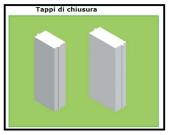 7 Tappi di chiusura laterali 1