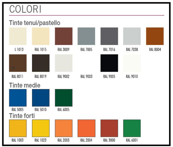 Wonderful Colori Disponibili 1