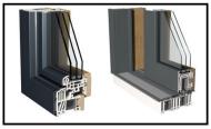 Finestra alluminio -PVC-legno 1